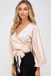 hers and mine Bell Sleeve Blouse - Side cropped