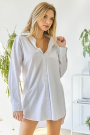 hers and mine Oversized Button Down Shirt - Other
