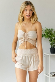 hers and mine Smock Top Short Set - Other