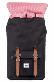 Herschel Supply Co. Black Little America Backpack - Front full body