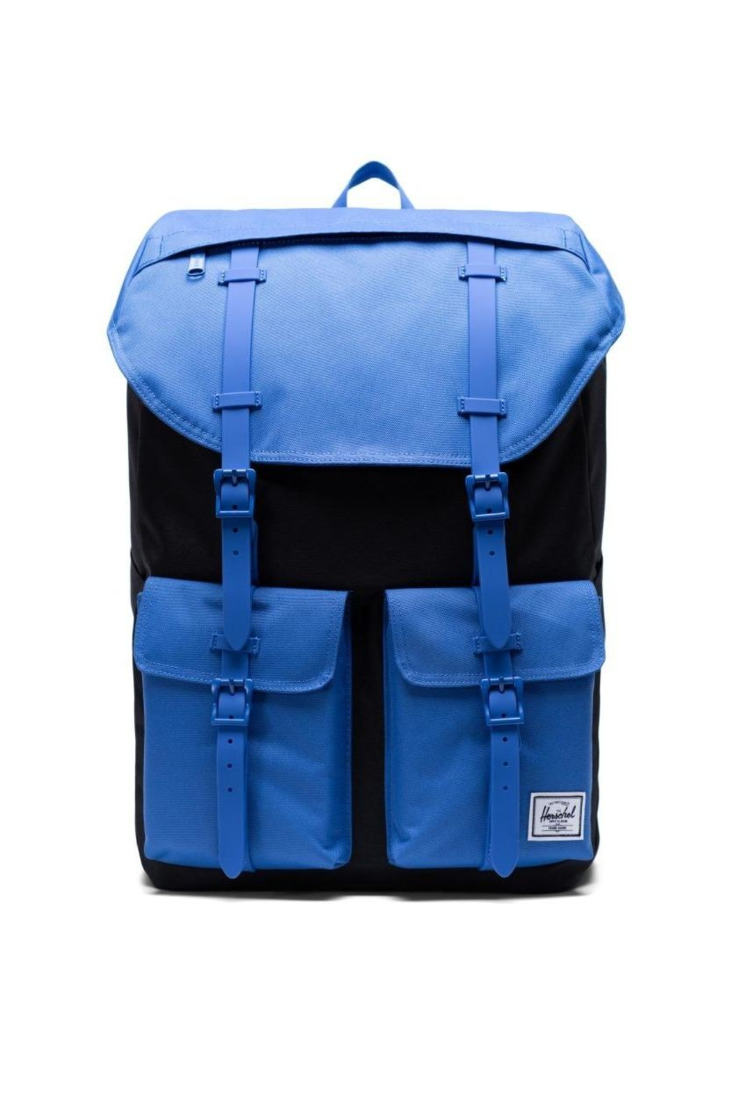 Herschel Supply Co. Blue Buckingham Backpack - Front Cropped Image