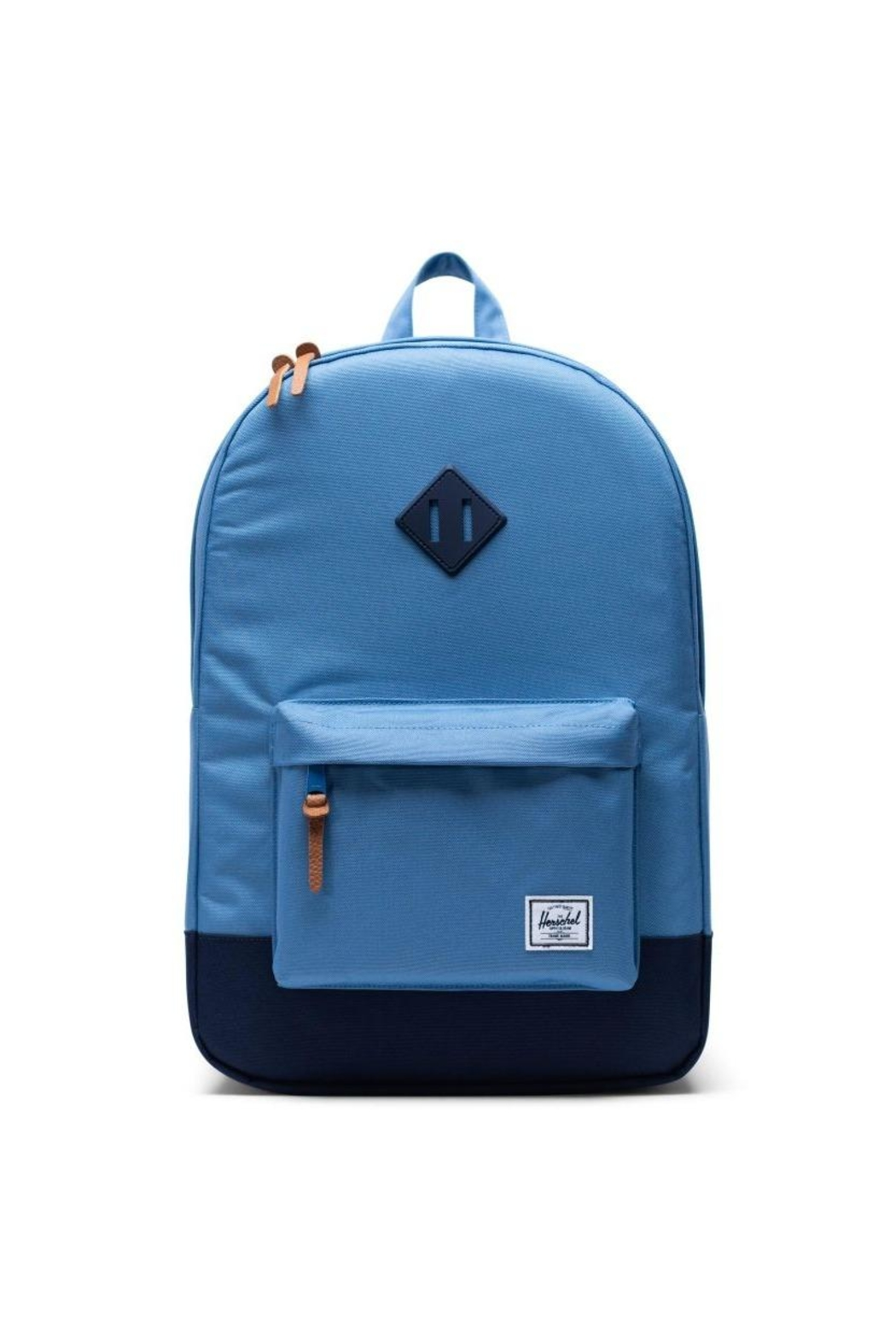 Herschel Supply Co. Blue Heritage Backpack - Front Cropped Image