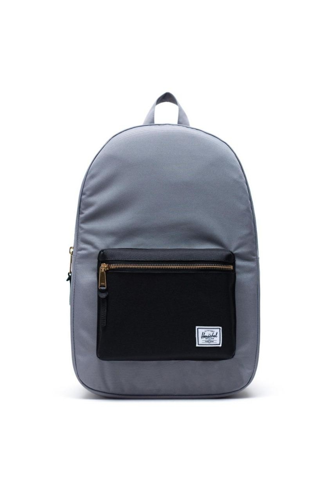 Herschel Supply Co. Grey Black Backpack` - Front Cropped Image