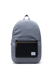 Herschel Supply Co. Grey Black Backpack` - Front cropped