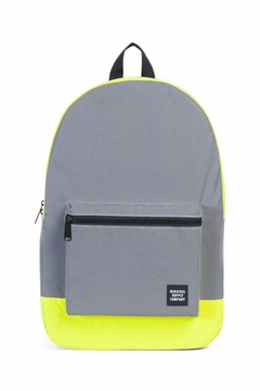 Shoptiques Product: Grey Yellow Backpack