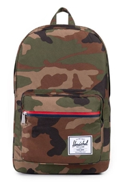 Herschel Supply Co. Camou Pop Quiz Backpack - Front cropped