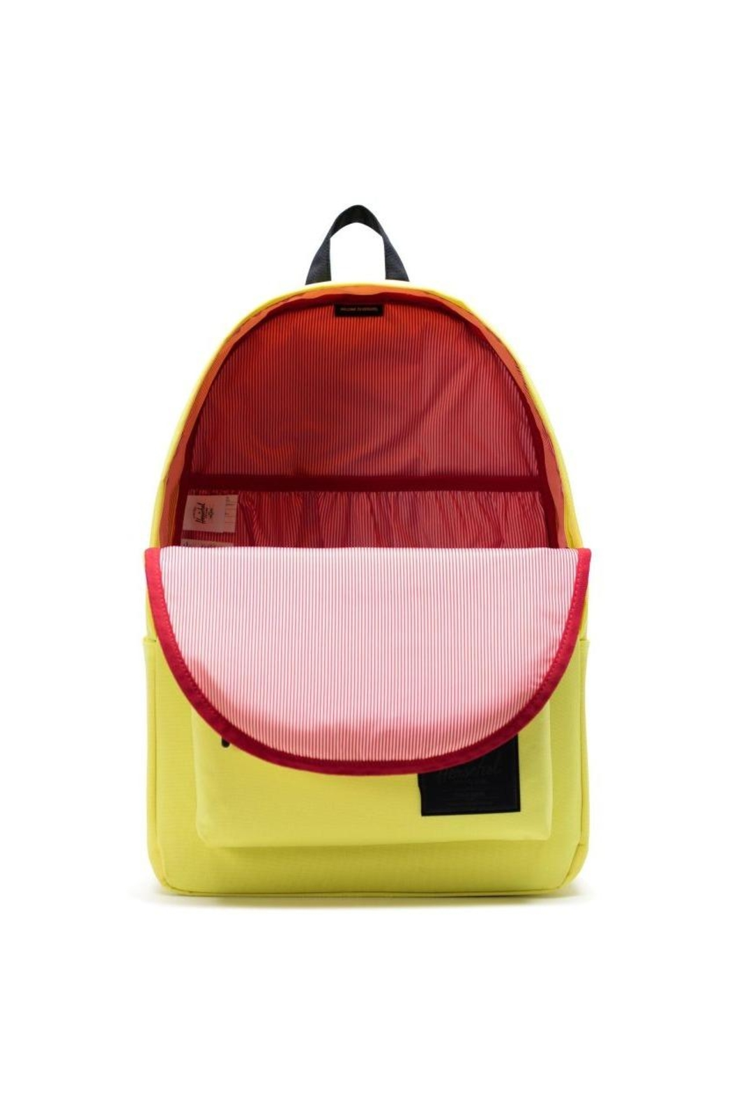 Herschel Supply Co. Highligher Yellow Backpack - Front Full Image