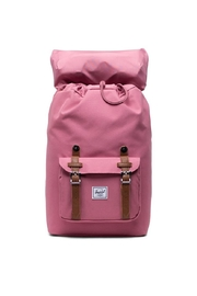 Herschel Supply Co. Mid-Sized Pink Backpack - Front full body