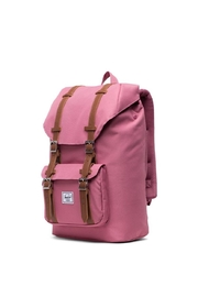 Herschel Supply Co. Mid-Sized Pink Backpack - Side cropped