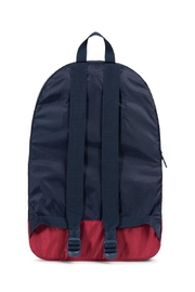 Herschel Supply Co. Navy/red Packable Daypack - Front full body