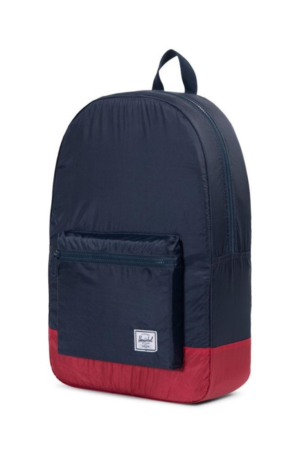 Herschel Supply Co. Navy/red Packable Daypack - Side Cropped Image