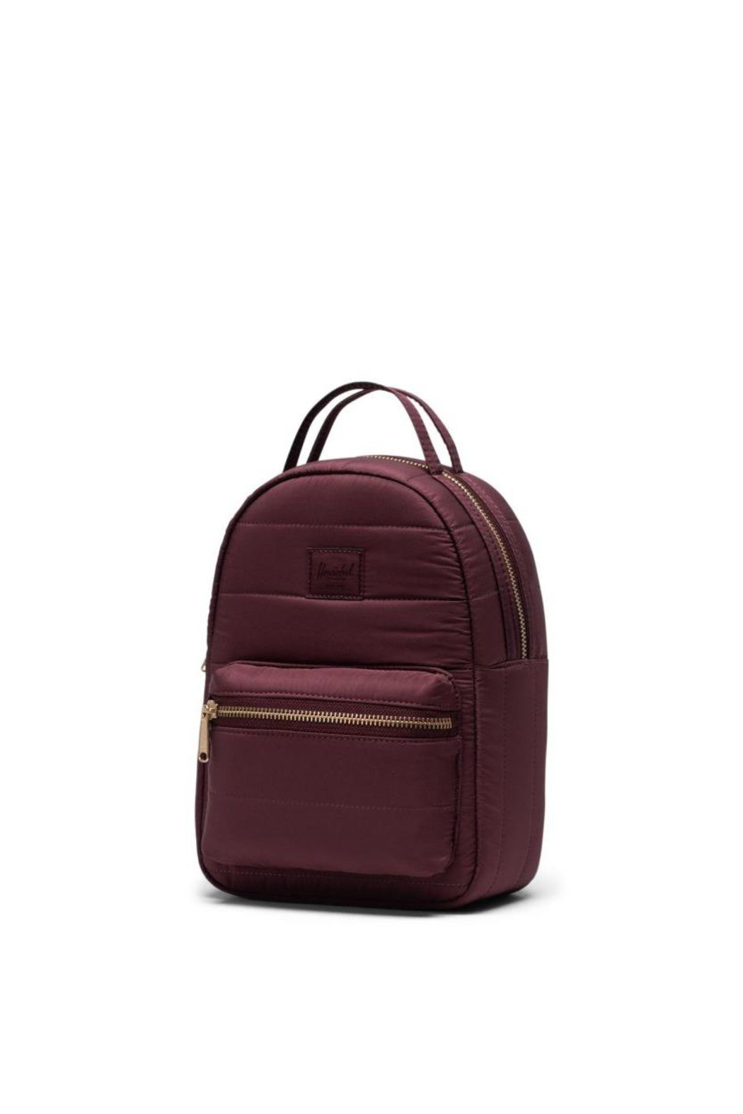 Herschel Supply Co. Plum Quilted Backpack - Side Cropped Image
