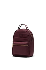 Herschel Supply Co. Plum Quilted Backpack - Side cropped