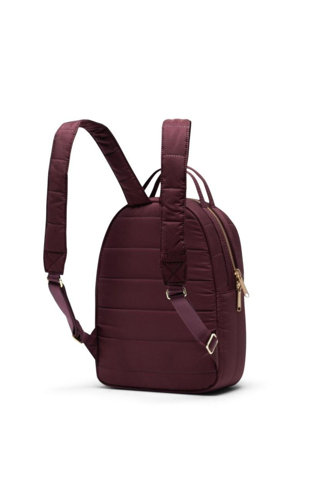 Herschel Supply Co. Plum Quilted Backpack - Back Cropped Image