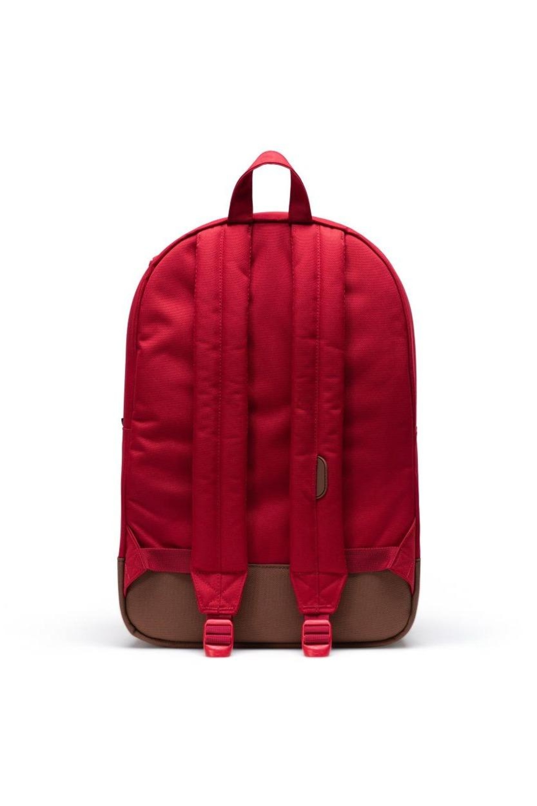 Herschel Supply Co. Red Brown Backpack - Back Cropped Image