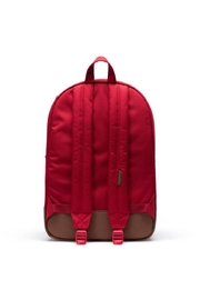 Herschel Supply Co. Red Brown Backpack - Back cropped