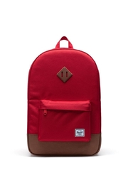 Herschel Supply Co. Red Brown Backpack - Front cropped