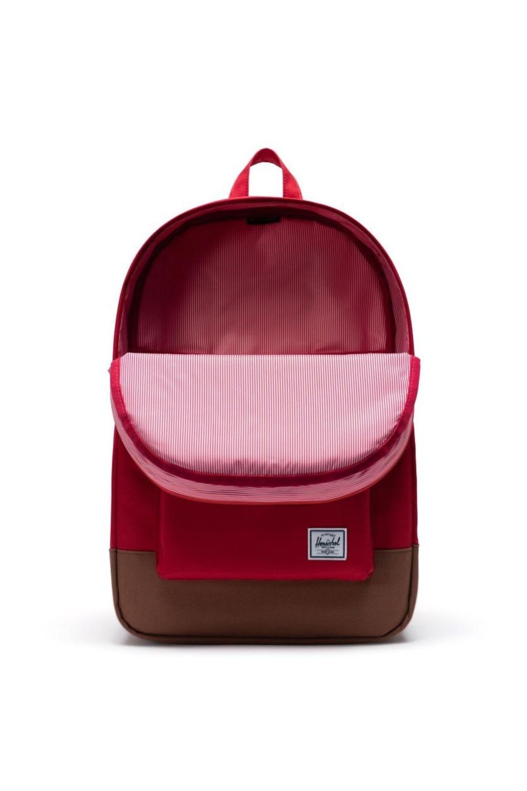 Herschel Supply Co. Red Brown Backpack - Front Full Image