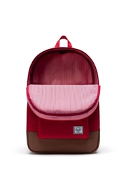 Herschel Supply Co. Red Brown Backpack - Front full body