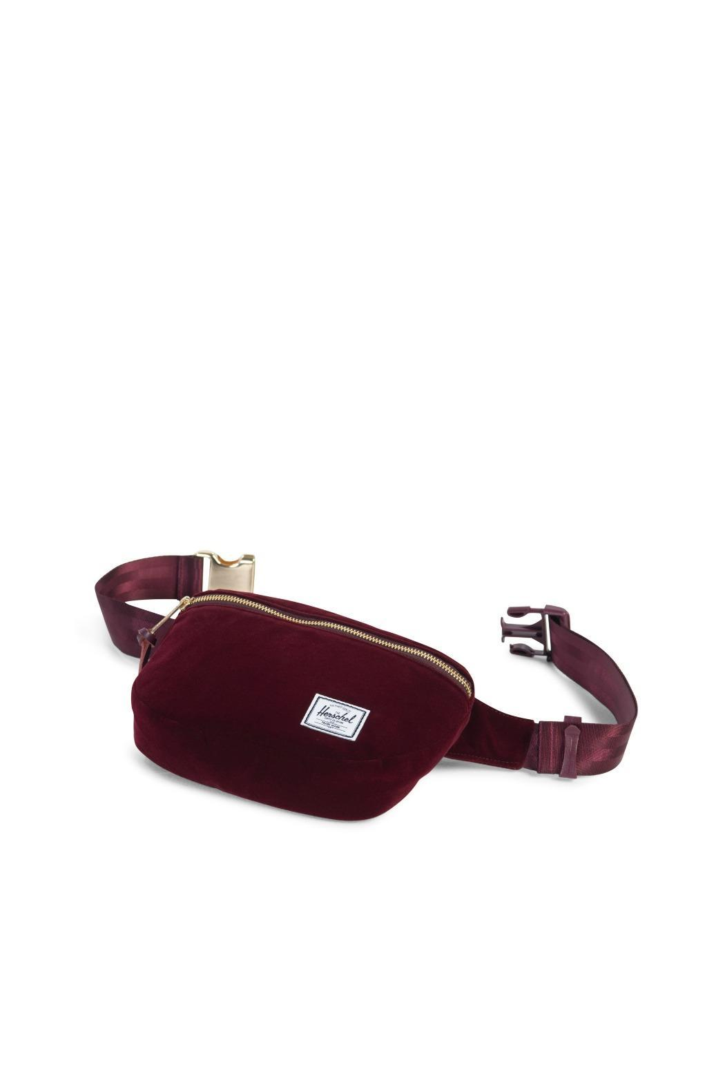 73627d41486 Herschel Supply Co. Velvet Fanny Pack from New Jersey by Making ...