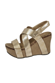 Pierre Dumas Hester-5 Wedge - Front cropped