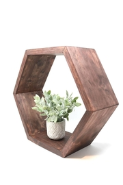 Nadya's Closet Hexagon Shelf Decor - Product Mini Image
