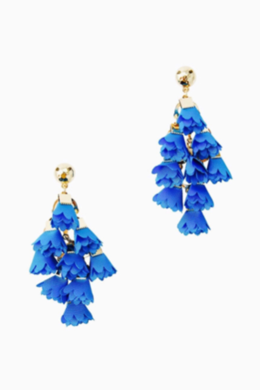 Lilly Pulitzer  Hey Bouquet Earrings - Front Full Image
