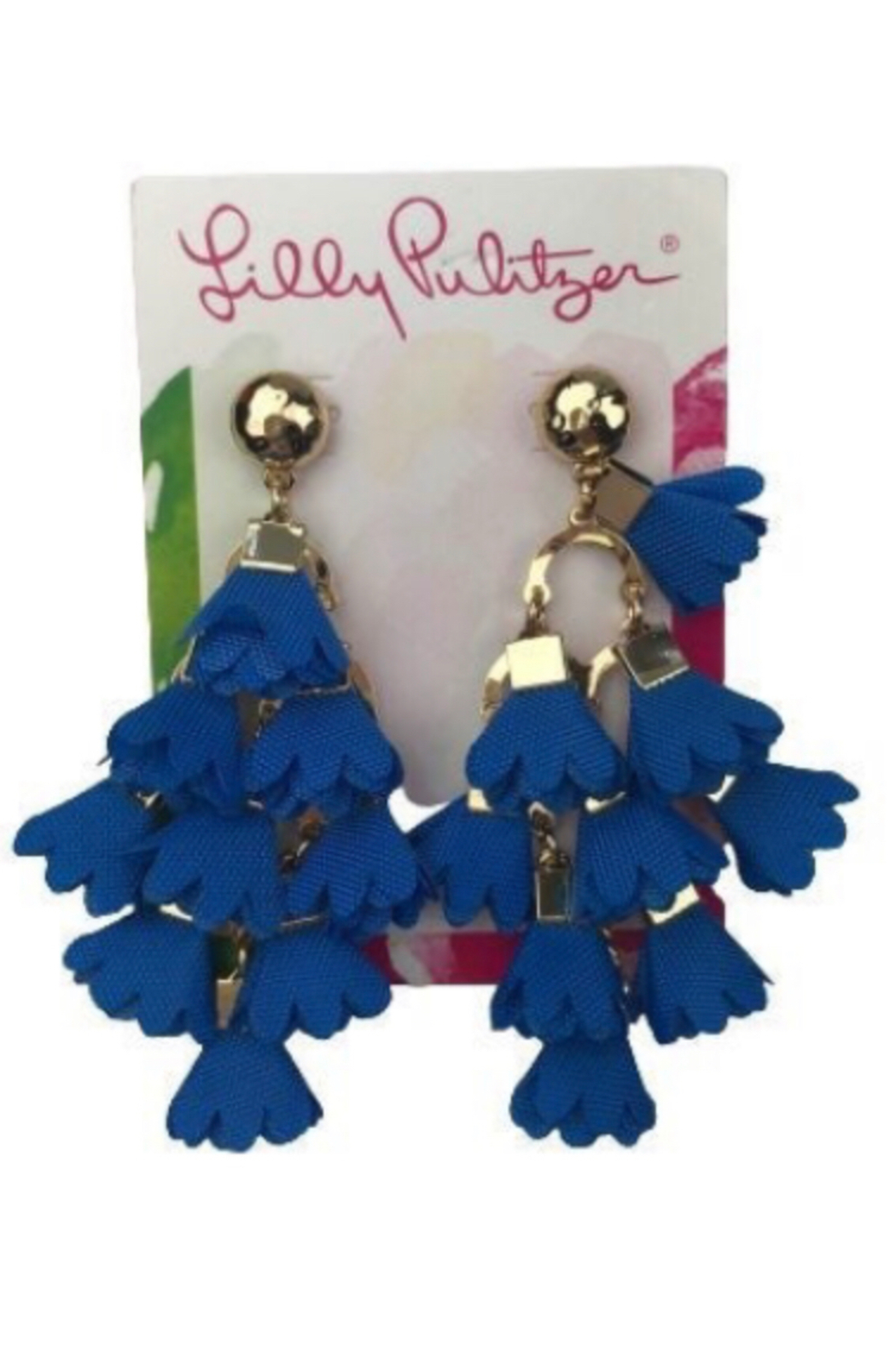 Lilly Pulitzer  Hey Bouquet Earrings - Side Cropped Image