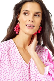 Lilly Pulitzer  Hey Bouquet Earrings - Side cropped