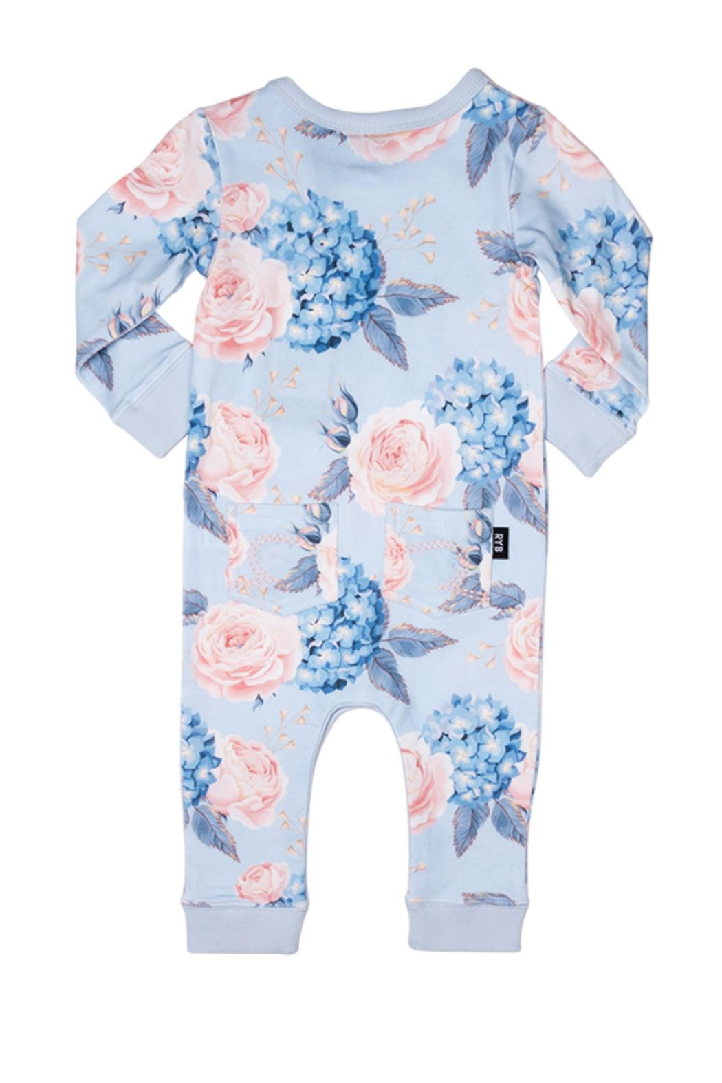 Rock Your Baby Hey Jude Playsuit - Front Full Image