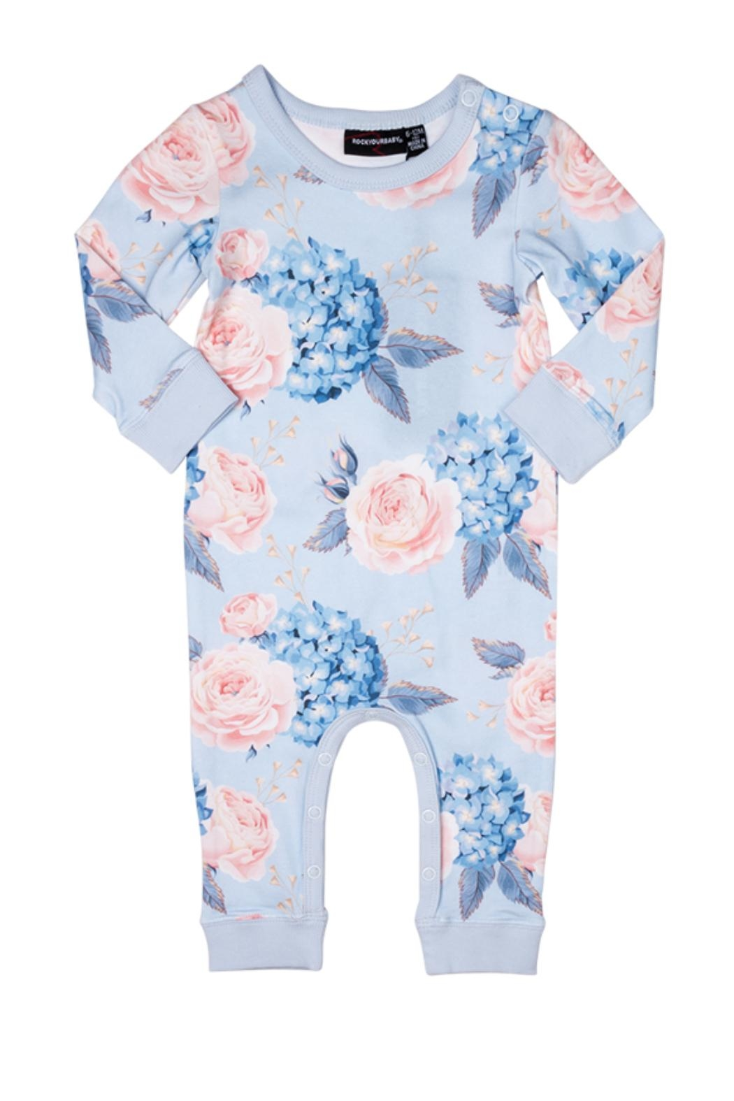 Rock Your Baby Hey Jude Playsuit - Main Image