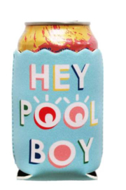 Packed Party Hey Pool Boy Drink Hugger - Product Mini Image