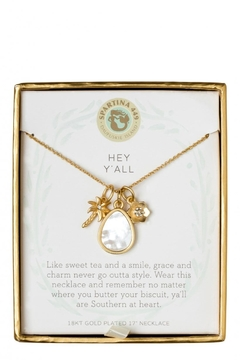 Shoptiques Product: Hey Y'all Necklace