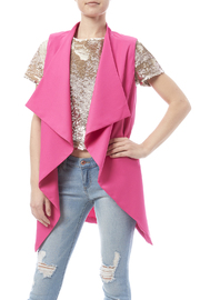 Hfve Fuchsia Vest - Front cropped