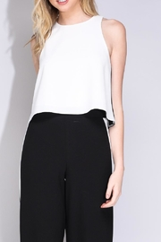 Do & Be Hi-Lo Crop Top - Back cropped