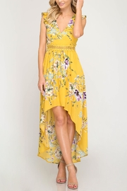 She + Sky Hi-Lo Maxi Dress - Product Mini Image