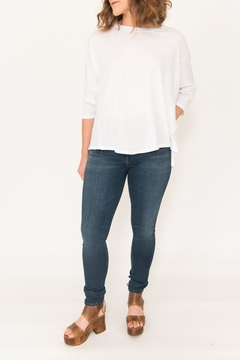 Shoptiques Product: Hi-Lo Seamed Tee