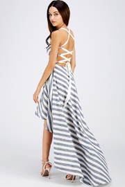 Blithe  Hi-Lo Strappy Dress - Side cropped