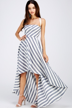 Shoptiques Product: Hi-Lo Strappy Dress