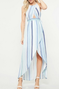 Promesa USA Hi-Lo Stripe Maxi - Alternate List Image