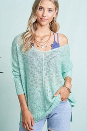 LA MIEL  Hi/Lo Summer Sweater - Product Mini Image