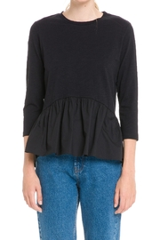 English Factory Hi-Lo Top - Back cropped