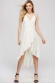 Lovely Day Hi-Lo White Dress - Front cropped