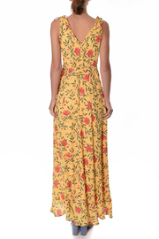 If By Sea Hi-Lo Wrap Dress - Front full body