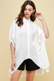 Pinch Hi Low Button Down Top - Product Mini Image