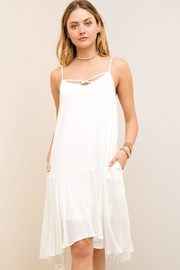 Entro Hi-Low Hemline Sundress - Product Mini Image