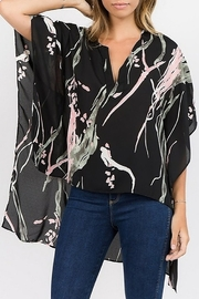Caramela Hi-Low Kimono Top - Product Mini Image