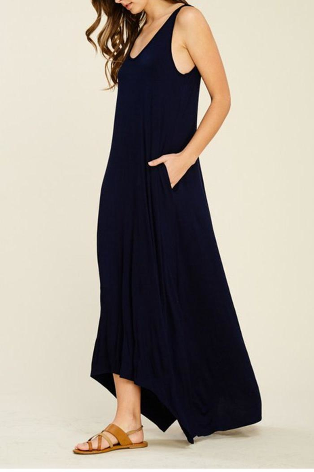 The Dressing Room Hi-Low Maxi Dress - Front Full Image