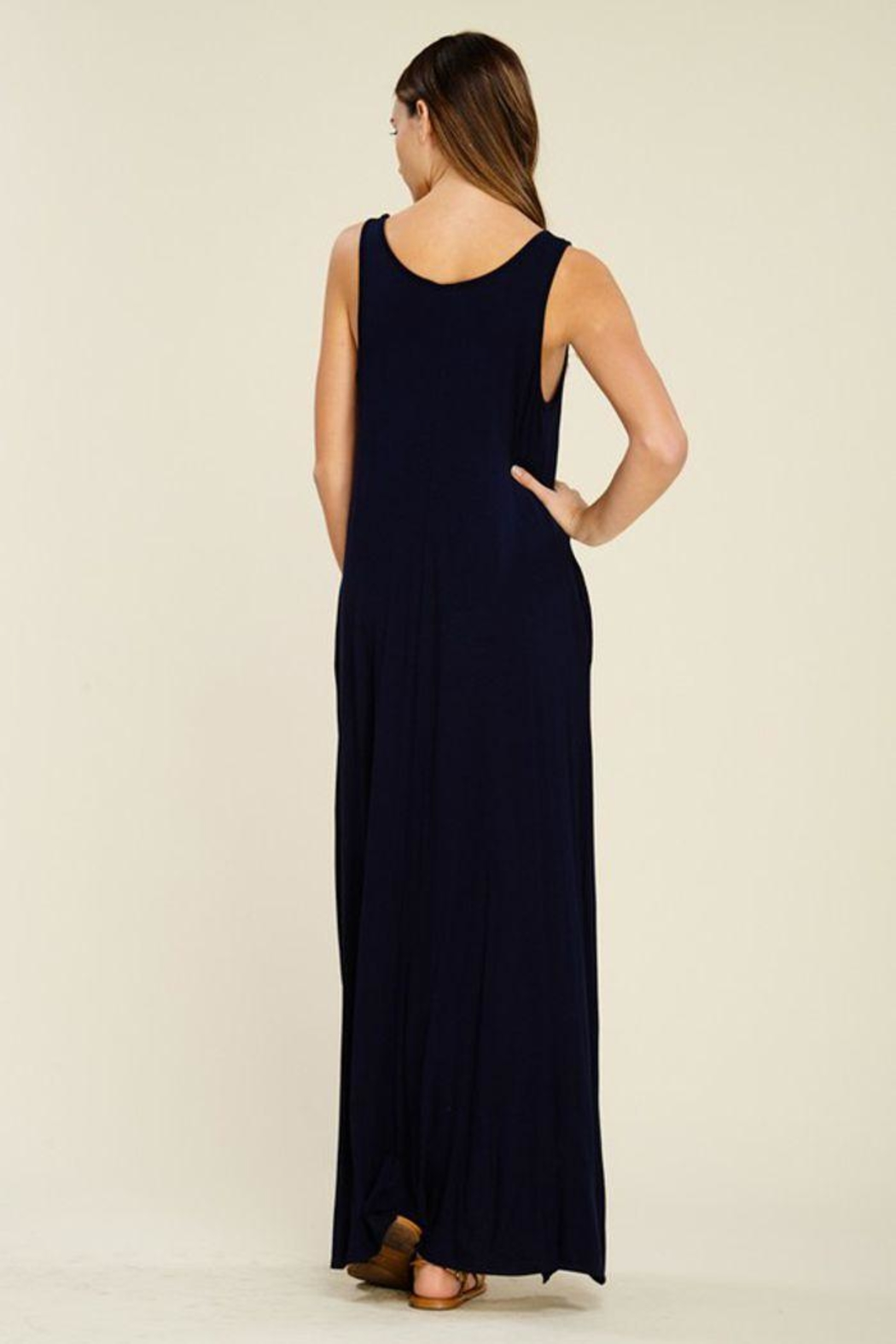 The Dressing Room Hi-Low Maxi Dress - Side Cropped Image