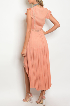 the clothing company Hi-Low Peach Dress - Alternate List Image
